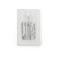 Flacon de gel antibactérien pour mains avec personnalisation