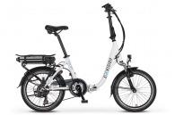 Vélo pliant logoté électrique 6 vitesses
