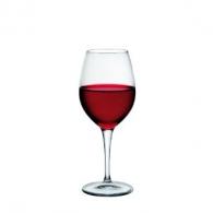Verre à vin avec marquage