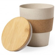Gobelet bambou à couvercle