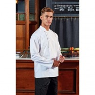 Veste chef cuisinier personnalisable manches longues