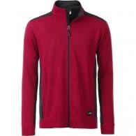 Veste personnalisable polaire Workwear Homme.