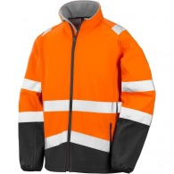 Veste softshell high viz - Result