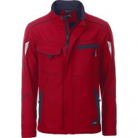 Veste personnalisable softshell Workwear