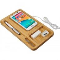Vide-poches personnalisés avec chargeur sans fil