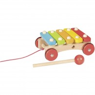 Xylophone on wheels