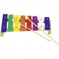 Xylophone logoté en bois 26cm