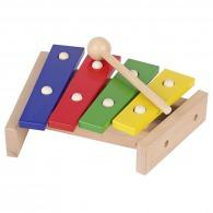 Xylophone personnalisable en bois 4 tons