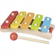 Xylophone personnalisé en bois 5 tons