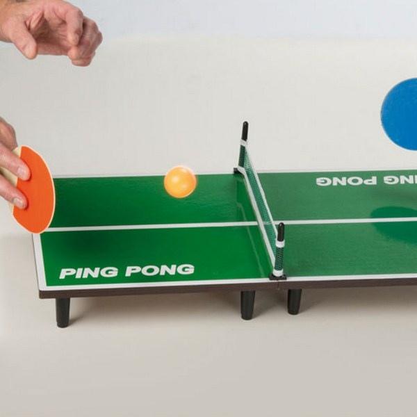 mini table de ping pong cadeau publicitaire en vente au prix grossiste 58887. Black Bedroom Furniture Sets. Home Design Ideas