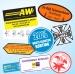 Autocollant et sticker cadeau d'entreprise
