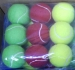 Balle de tennis en couleur cadeau d'entreprise