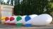 Ballon dirigeable gonflable à l'hélium 3 mètres, ballon dirigeable hélium publicitaire