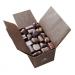 Ballotin de 34 chocolats noirs cadeau d'entreprise
