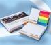 Bloc-notes adhésif repositionnable à couverture rigide cadeau d'entreprise