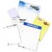 Bloc-notes classique A5 et 100 feuilles cadeau d'entreprise
