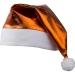 Bonnet de père noël brillant, bonnets de père-noël publicitaire