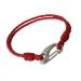 Bracelet cuir tressé cadeau d'entreprise
