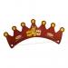 Couronne en carton avec élastique, couronne publicitaire