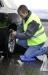 Coussin + veste de sécurité cadeau d'entreprise