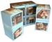 Cube magique 7 cm / puzzle magique 9 faces cadeau d'entreprise