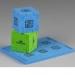 Cube puzzle en mousse cadeau d'entreprise