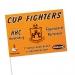 Drapeau de supporter papier ou papier ingnifugé, drapeau de supporter publicitaire