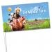 Drapeau en papier, drapeau en papier publicitaire