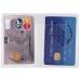 Etui  personnalisable 2 cartes de crédit vertical