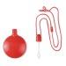 Flacon à bulles rond, jeu et tube de bulles de savon publicitaire