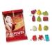 Gomme de fruit, 10 g  - formes standards en sachet compostable cadeau d'entreprise