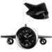 Horloge LOLLICLOCK-PLANE BLACK, horloge et pendulette publicitaire