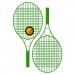 Kit de tennis Colour Pro avec champ publicitaire cadeau d'entreprise
