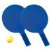 Kit de tennis avec balle en mousse, raquettes de plage ou beach tennis publicitaire