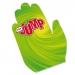 Main de supporter en carton quadri, main de supporter et main en mousse publicitaire