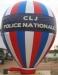 Publicité gonflable : Montgolfière gonflable auto-ventilée, montgolfière  publicitaire