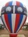 Publicité gonflable : Montgolfière gonflable auto-ventilée cadeau d'entreprise