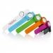 Montre analogique mini slap on watch, montre couleur publicitaire