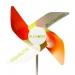 Moulin à vent en papier, moulin à vent, fleur et hélice éolienne publicitaire