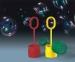 Jeu de bulles pustefix original - petit format, jeu et tube de bulles de savon publicitaire