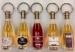 Porte-clés bouteille de vin cadeau d'entreprise