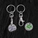 Porte-clés jeton classique cadeau d'entreprise