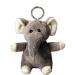 Porte clés peluche éléphant. cadeau d'entreprise