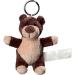 Porte clés peluche ours. cadeau d'entreprise