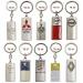Porte-clés totem eco, porte-clés en métal sur-mesure publicitaire