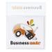 Porte-vignette assurance adhésif (+quadri numérique), pochette porte-vignette d'assurance publicitaire