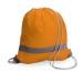 Sac à dos ' sécurité' avec bandes réfléchissantes, sac à dos avec bandes réfléchissantes publicitaire