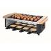 Set à raclette/pierre à grill/brochette Domo Clip, appareil service à raclette publicitaire
