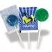 Sucette plate avec moule 2D cadeau d'entreprise