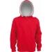 Sweat-Shirt Capuche Contrastée Enfant Kariban cadeau d'entreprise